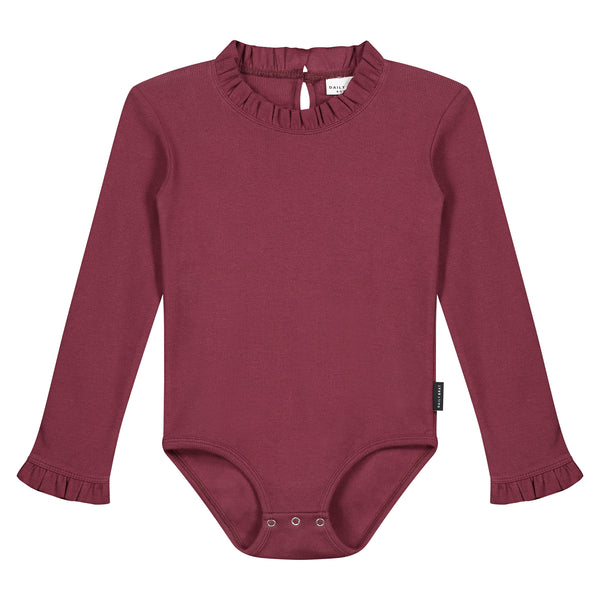 LETTY BODYSUIT CARBEN RED