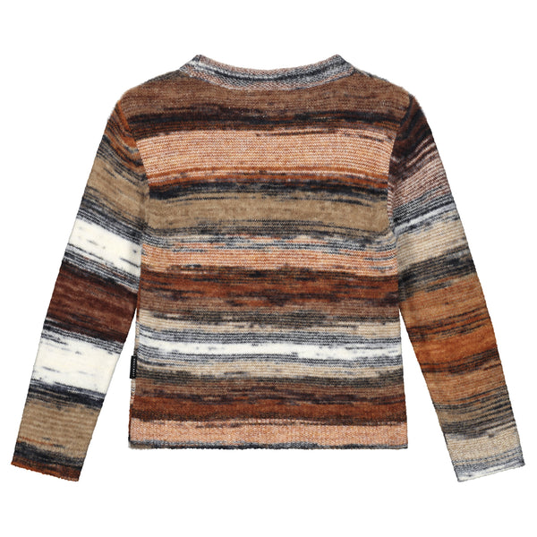 FRANKY STRIPED KNITTED SWEATER