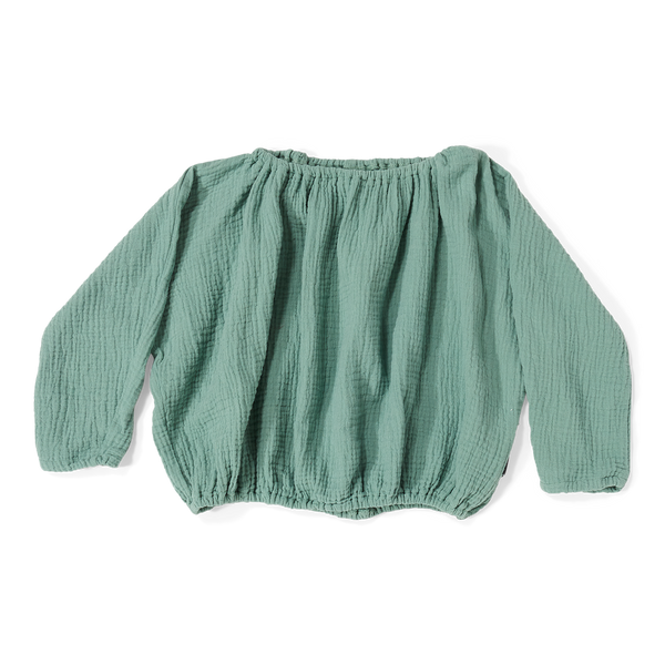 DAILY BRAT LILY TOP SEA GREEN