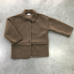 DAILY BRAT TEDDY COAT BROWN