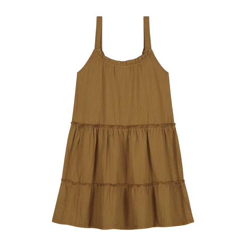 JUNE DRESS SANDSTONE