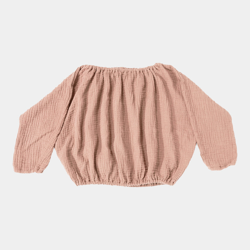 DAILY BRAT LILY TOP DUSTY PINK