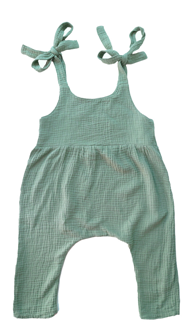 DAILY BRAT LUCY OVERALL SEA GREEN