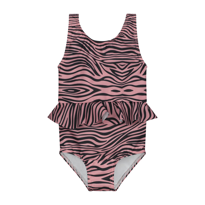 DAILY BRAT KATY SWIMSUIT ROSEWOOD WITH UPF50+
