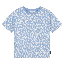 DAILY BRAT FLINN T-SHIRT SERENITY BLUE