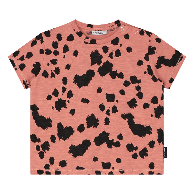 DAILY BRAT DALMATIAN T-SHIRT CANYON CLAY