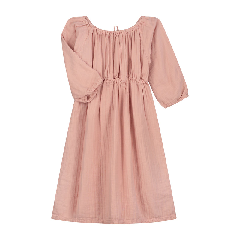 DAILY BRAT EMILY DRESS DUSTY PINK