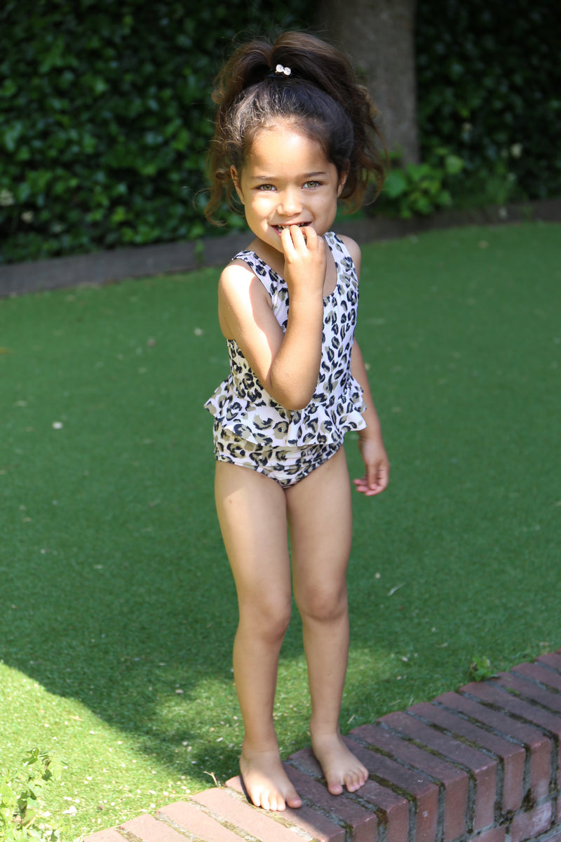 DAILY BRAT SCARLETT SWIMSUIT SANDY IVORY WITH UPF50+