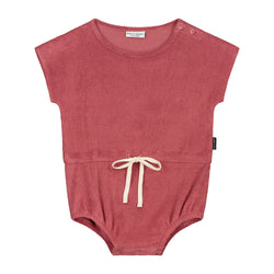 DAILY BRAT JOE TOWEL SUIT MARSALA