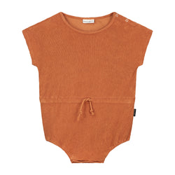 DAILY BRAT JOE TOWEL SUIT BURLYWOOD (MATCHING COLOUR DRAWCORD)