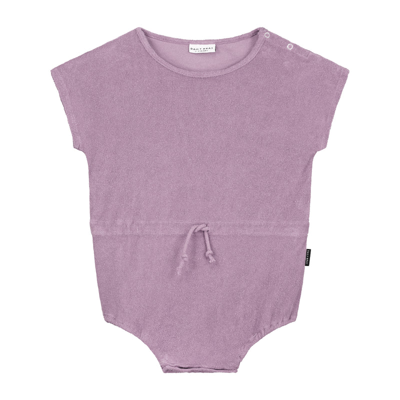DAILY BRAT JOE TOWEL SUIT DUSTY LILAC (MATCHING COLOUR DRAWCORD)