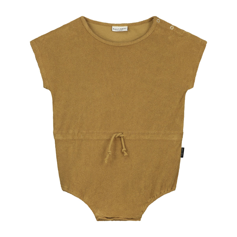 DAILY BRAT JOE TOWEL SUIT SANDSTONE (MATCHING COLOUR DRAWCORD)