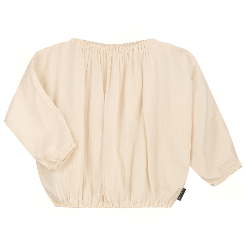 DAILY BRAT LILY TOP IVORY