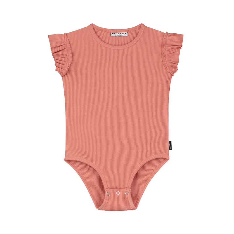 DAILY BRAT MIA BODYSUIT CANYON CLAY