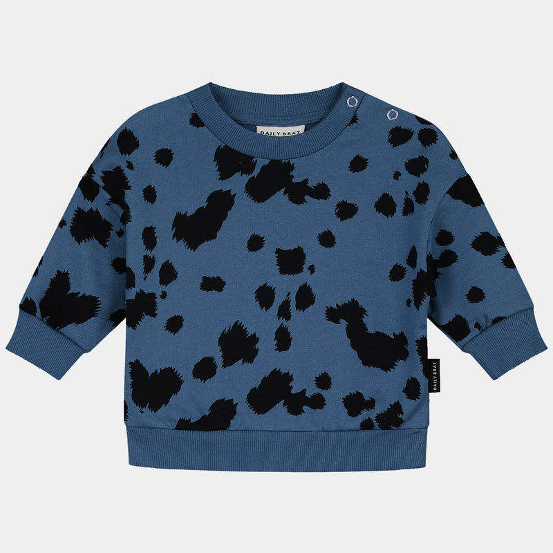 DAILY BRAT MINI DALMATIAN SWEATER DARK NAVY