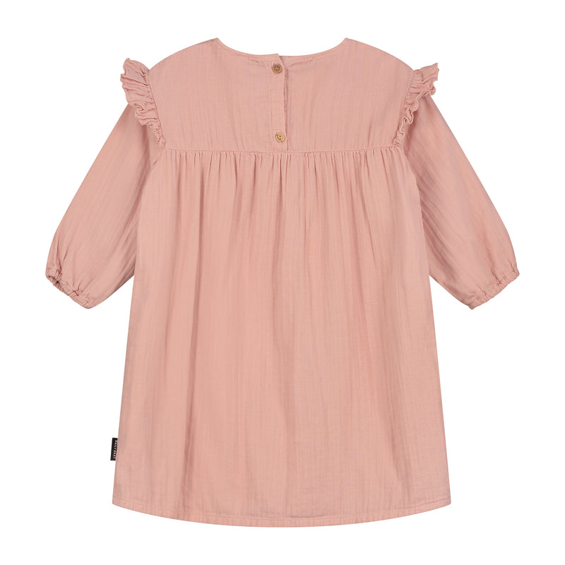 DAILY BRAT OLIVIA DRESS DUSTY PINK