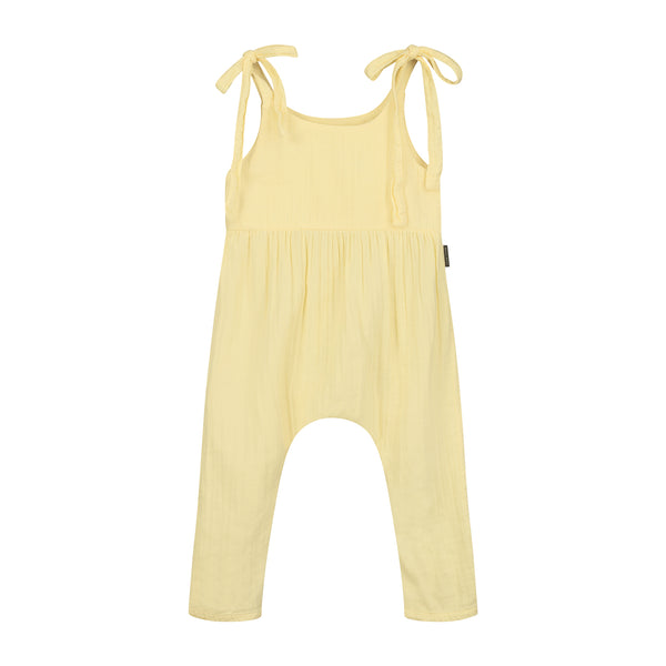 DAILY BRAT LUCY JUMPSUIT PASTEL LEMON