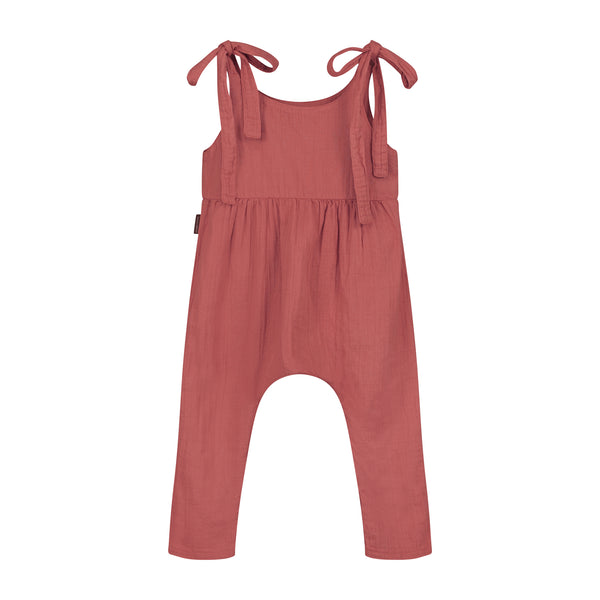 DAILY BRAT LUCY JUMPSUIT MARSALA