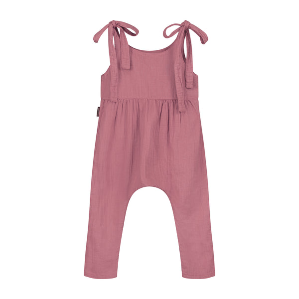 DAILY BRAT LUCY JUMPSUIT ROSEWOOD