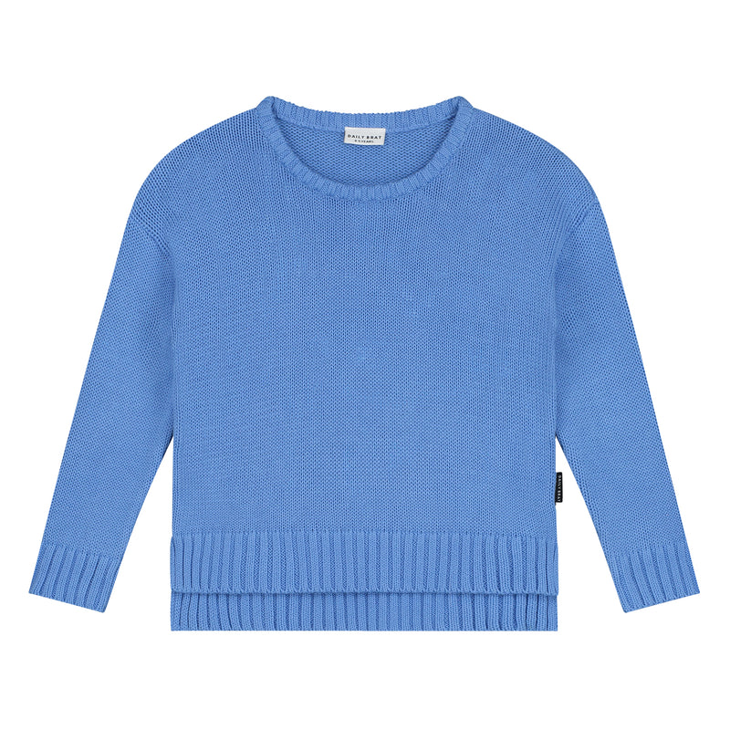 AUSTIN KNITTED SWEATER SERENITY BLUE