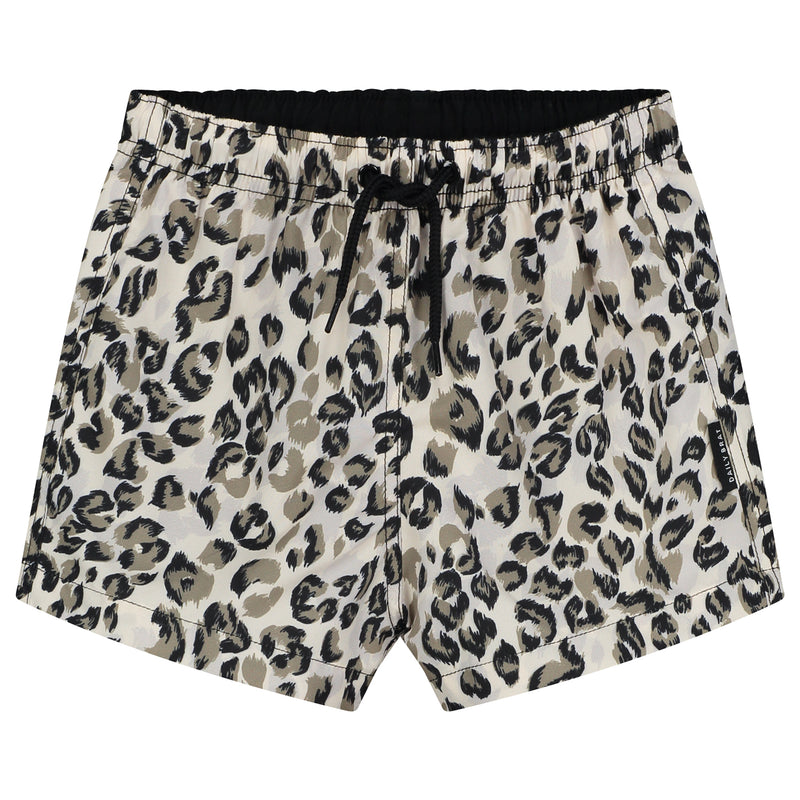 DAILY BRAT SCAR SWIMSHORTS DUSTY IVORY