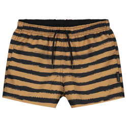 DAILY BRAT PAINTED STRIPE SWIMSHORTS SANDSTONE
