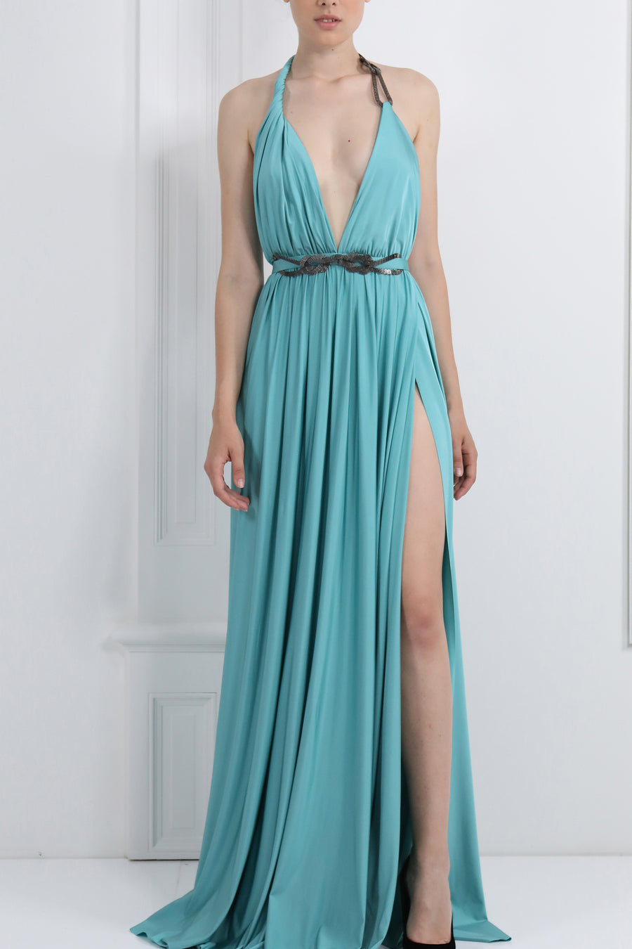 'Norah' Halter-Like Dress