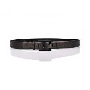 'Celestia' Anaconda leather belt