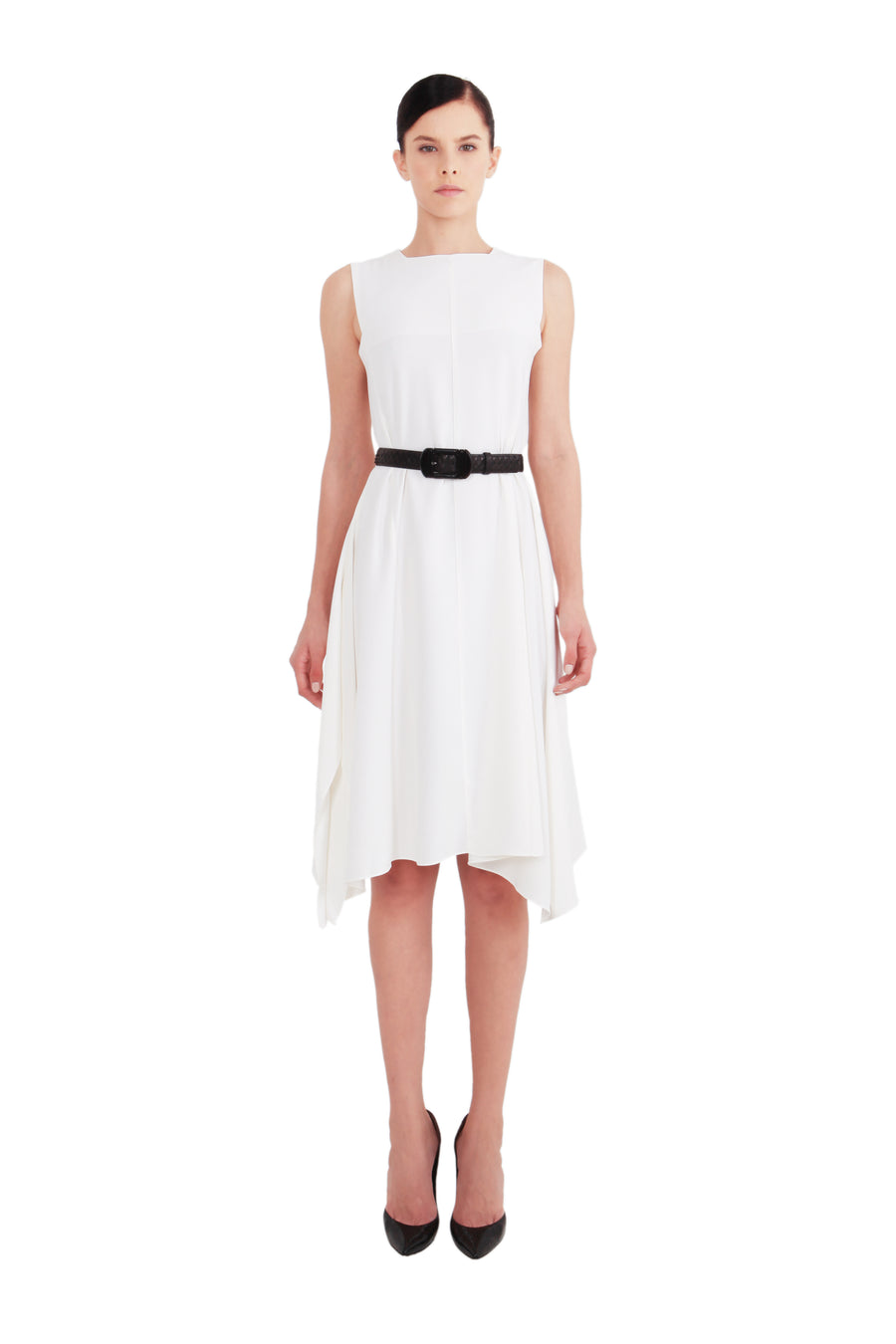 Asymmetric Ruffled 'Alice' Dress