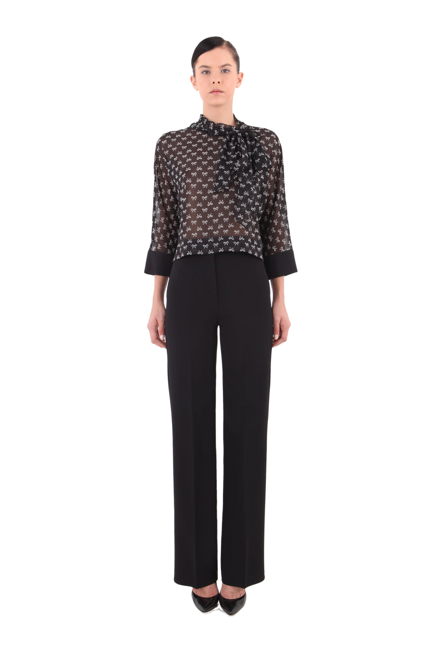 Semi-transparent 'Louise' Top