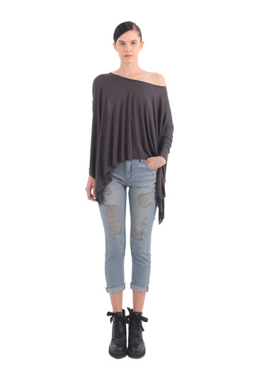One-Shouldered 'Dara' Top