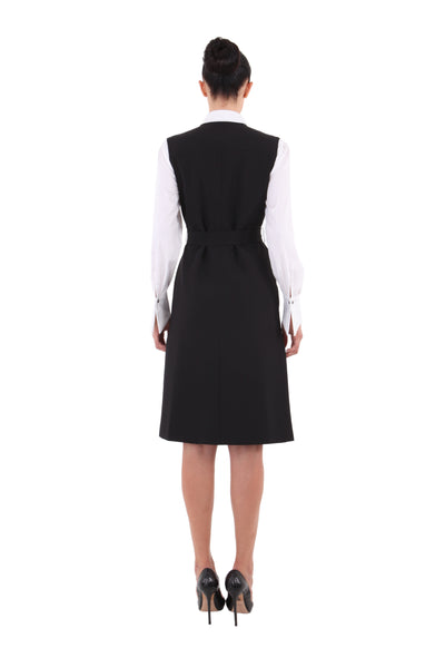 'Nancy' Vest Dress