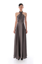 Load image into Gallery viewer, 'Lexy' Pleated Bust Silk Dress
