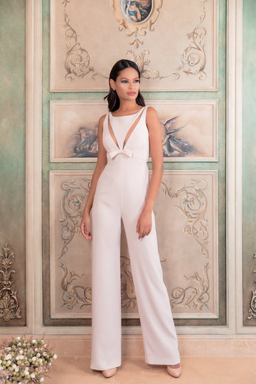 'Gracie' Plunging Jumpsuit