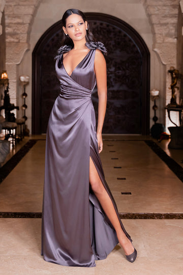 'Eliza' Silk Dress