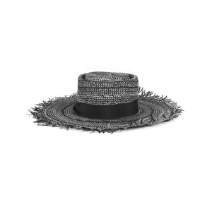 'Caroline' Frayed Hat