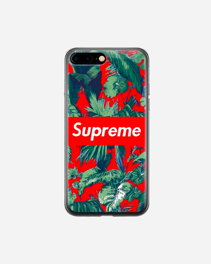 Floral Supreme iPhone Case