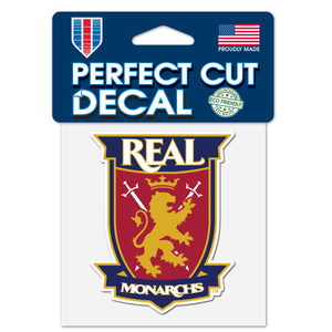 "Real Monarchs 4""x 4"" Perfect Cut Decal"
