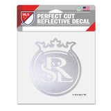 "RSL Reflective Coin Logo 6""x 6"" Perfect Cut Decal"
