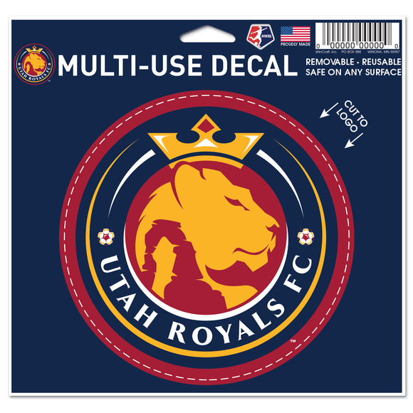 Utah Royals FC Multi-Use Vinyl Decal