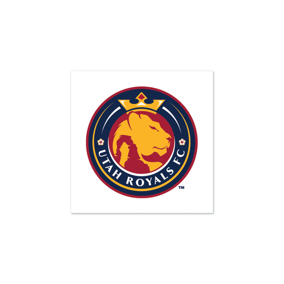 Utah Royals FC Tattoo 4-Pack