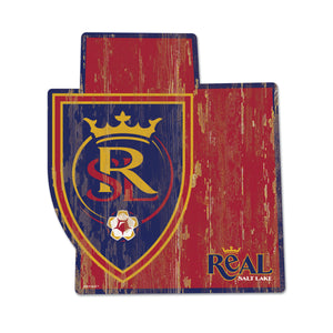 "RSL 12.70""x 14"" State Shape Wood Sign"