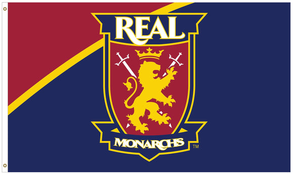 Real Monarchs Match Day 3'x 5' Deluxe Flag
