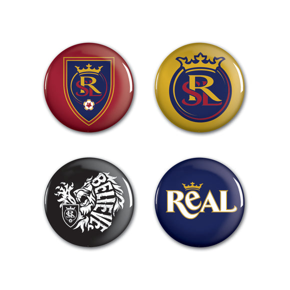 RSL Logo Button Pins (4-pack)