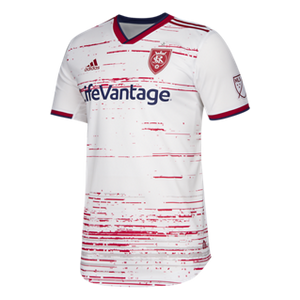 2019 RSL Mens White/Red Secondary Authentic Jersey