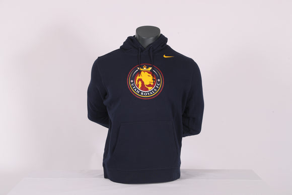 Utah Royals FC Nike Navy Logo Hooded Sweatshirt