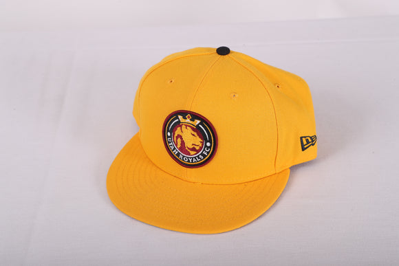 Utah Royals FC New Era 9fifty Gold Snapback Hat