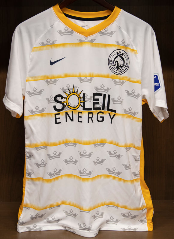 Utah Royals FC Nike Mens 2019 White Secondary Jersey