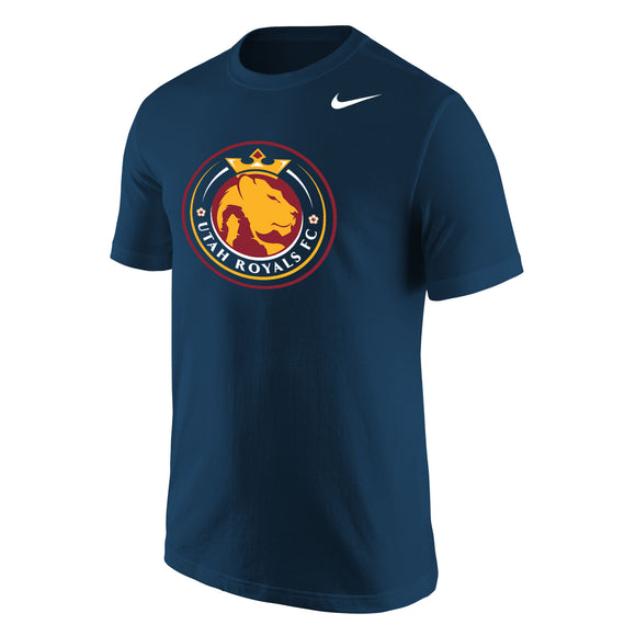 Utah Royals FC Men's Nike Navy Logo T-Shirt