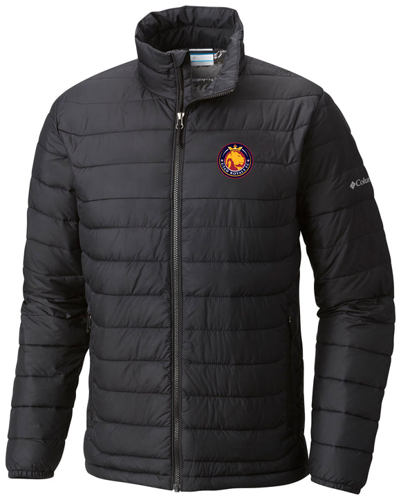Utah Royals FC Columbia Mens Black Powder Lite™ Coat